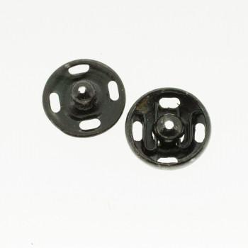 Boutons pressions noir 11 mm
