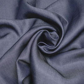 Tissu tencel effet denim bleu gris X 10 CM