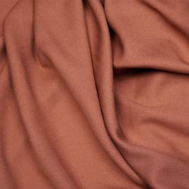 Tissu crêpe proviscose rose aragon x 10 cm