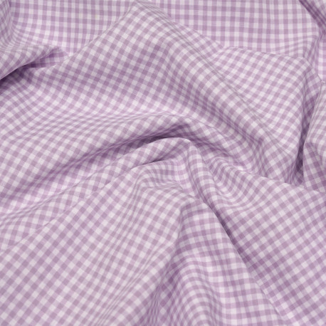 """haute qualité 6 couleurs Toile 100/% coton 45/"""" Large vichy imprimé"""