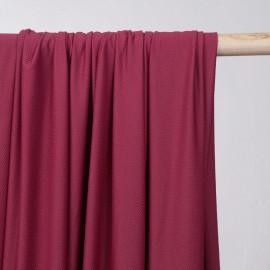 Tissu maillot de bain nid d'abeille beaujolais - mercerie en ligne - pretty mercerie