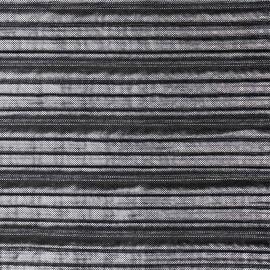 Tissu plissé noir et mini points gris argent métallisé - mercerie en ligne - pretty mercerie
