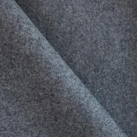 Drap de laine gris souris x 10cm