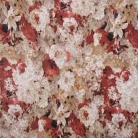 Tissu jersey bouquet fleuri - pretty mercerie - mercerie en ligne