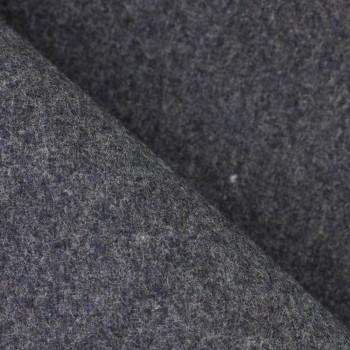 Drap de laine gris souris