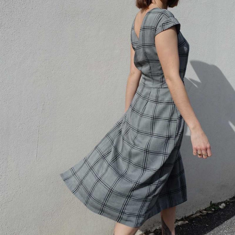 Patron de couture Robe / Top Leaf - pretty mercerie - mercerie en ligne - patron de couture