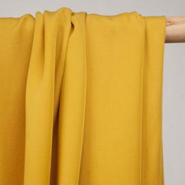 Tissu tencel sergé mimosa  - pretty mercerie - mercerie en ligne