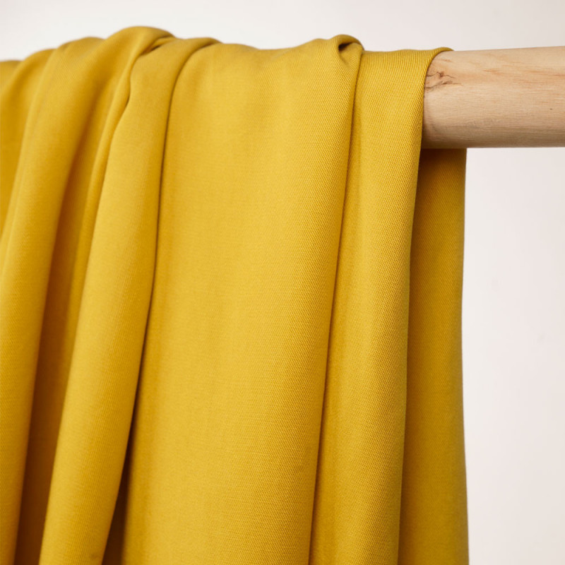 Tencel fabric twill mimosa - Pretty Mercerie - haberdashery online