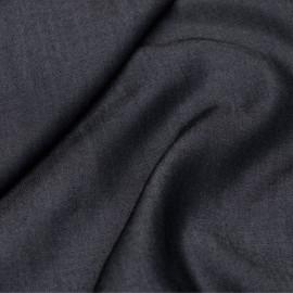 Tissu tencel effet denim bleu nuit X 10 CM