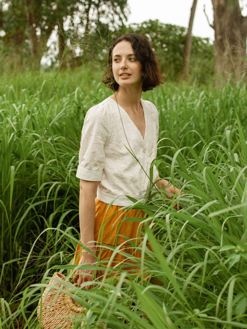 patron de couture blouse Malva pretty mercerie