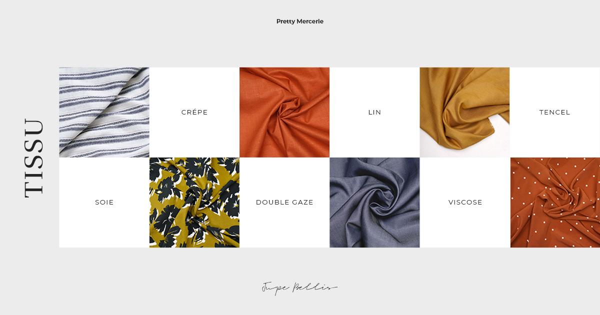 tissu patron de couture jupe belles pretty mercerie
