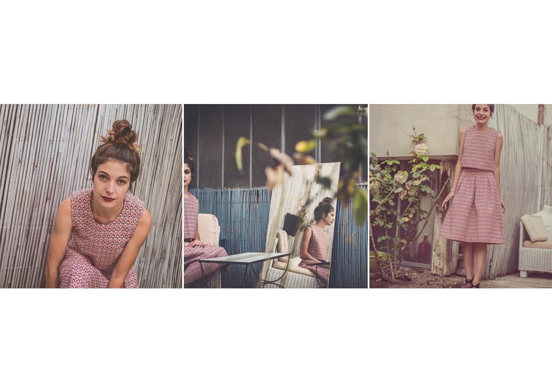 Sur le pretty blog interview couture Mathilde Lhuillier pour pretty mercerie