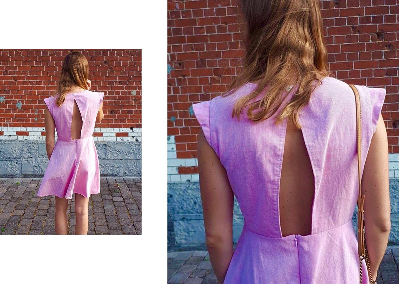 patron de couture robe negara pretty mercerie