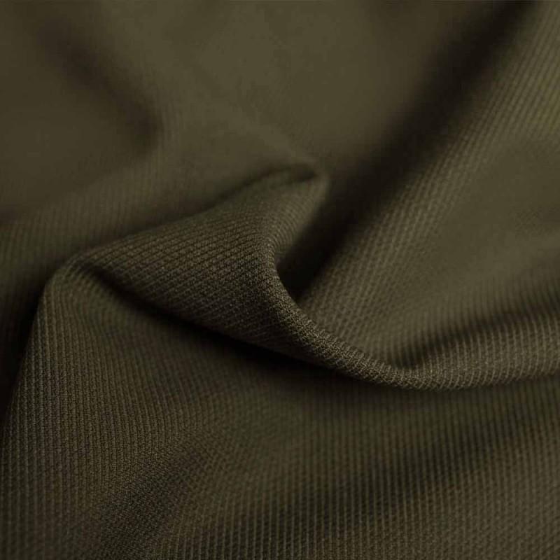 Pretty Blog - Tissu polyester et viscose kaki - Blog couture - Pretty Mercerie